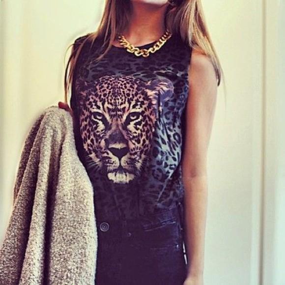 top tank top cats jaguar