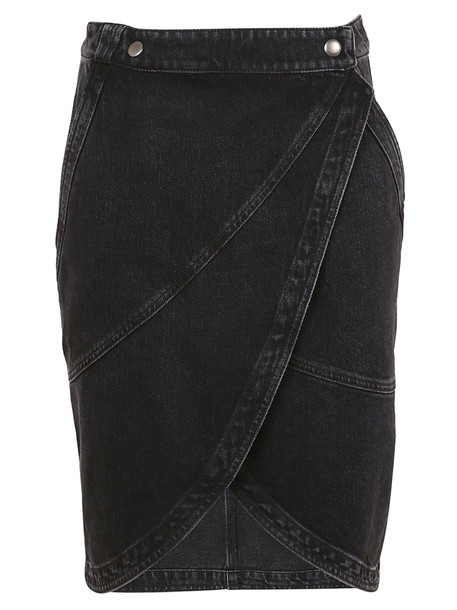 Givenchy Jean Skirt in black