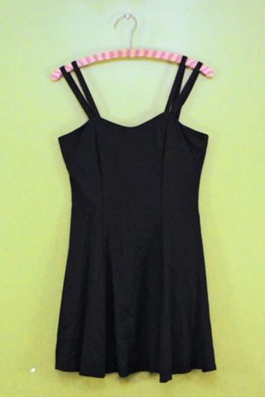 dress black fashion vintage cute dress mini dress little black dress pretty little liars