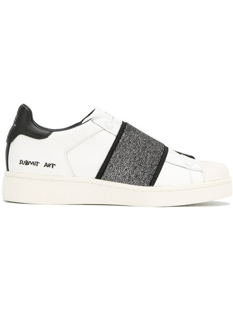 MOA MASTER OF ARTS sneakers. glitter women sneakers leather white cotton shoes