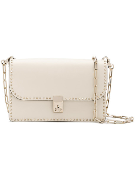 women bag shoulder bag leather white