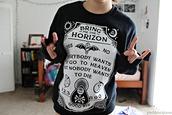 sweater,bring me the horizon,sweatshirt,satan,grunge,heaven,die,punk,rock,black,white,death,poison,sempiternal,yes,no