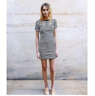 dress stripes striped dress indie tumblr outfit on point on point clothing tumblr girl tumblr girls pastel shoes shoes trend fashion inspo