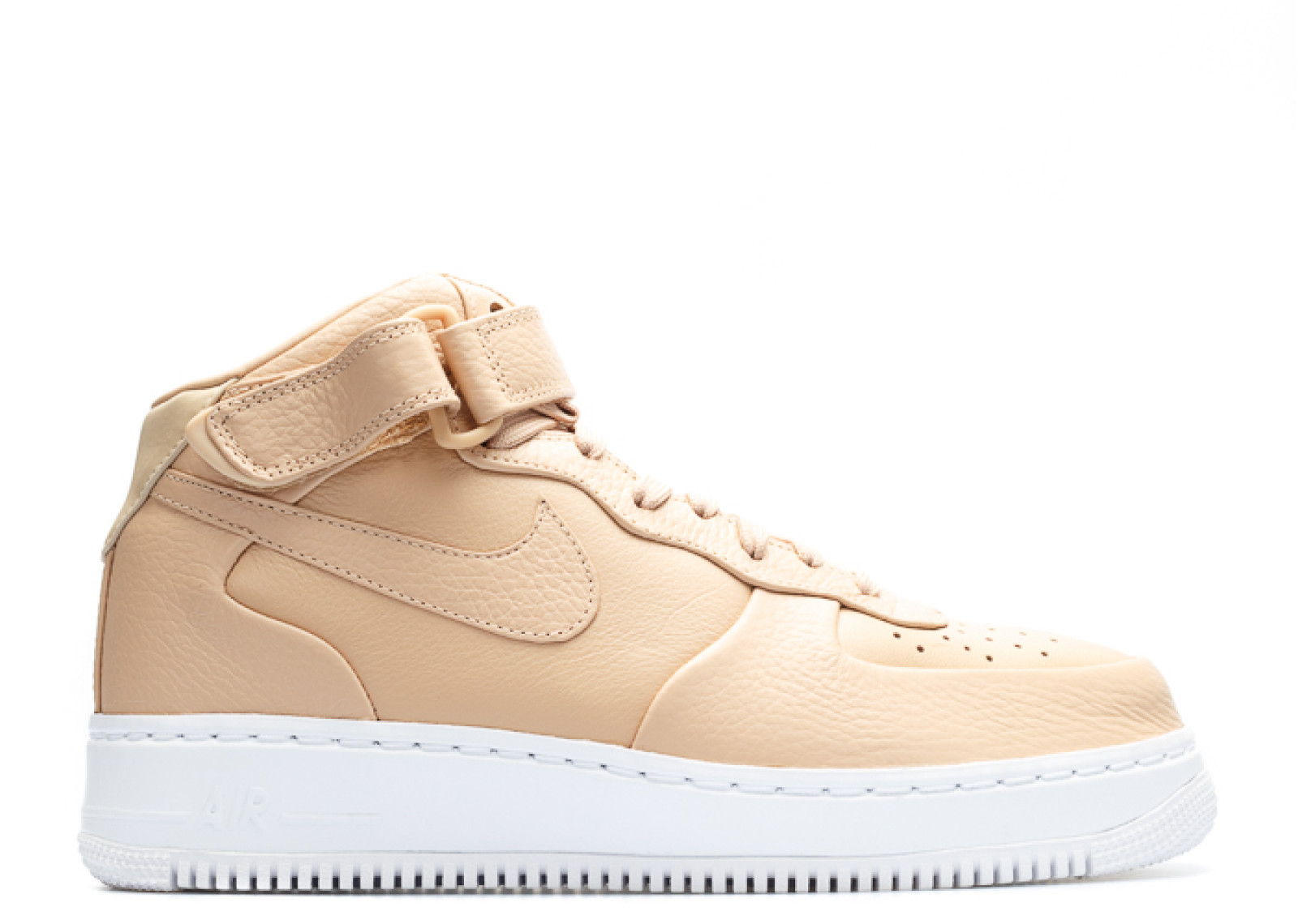 100% authentic 85dd2 b0f1a shoes, nike, beige, nike air, white, nude, nail polish, nike air force 1, nike  af1s, nude sneakers, tennis shoes, airforce 1, nike shoes, a1, sand, air ...