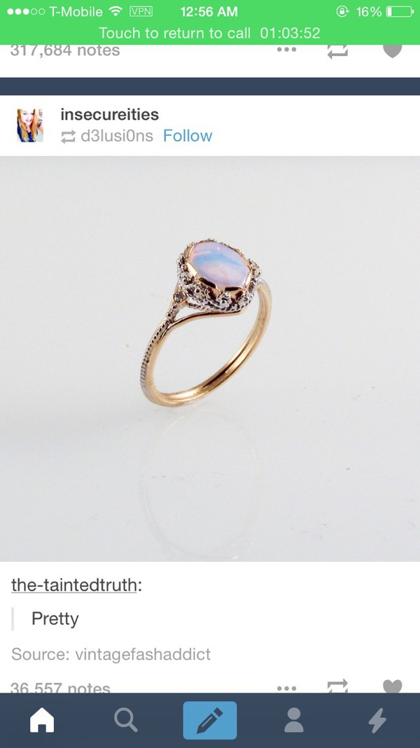 jewels vintage nail accessories ring gold ring opal engagement ring pastel rings and tings rings and jewelry gemstone ring purple ring hand jewelry