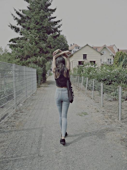 High waist jeans shorts kleiderkreisel