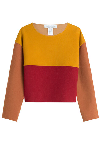 pullover wool multicolor sweater