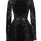 Long sleeve mock neck mini dress | moda operandi
