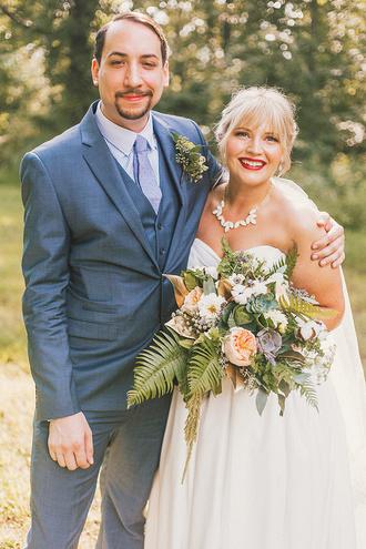 ruffled blog blogger wedding clothes