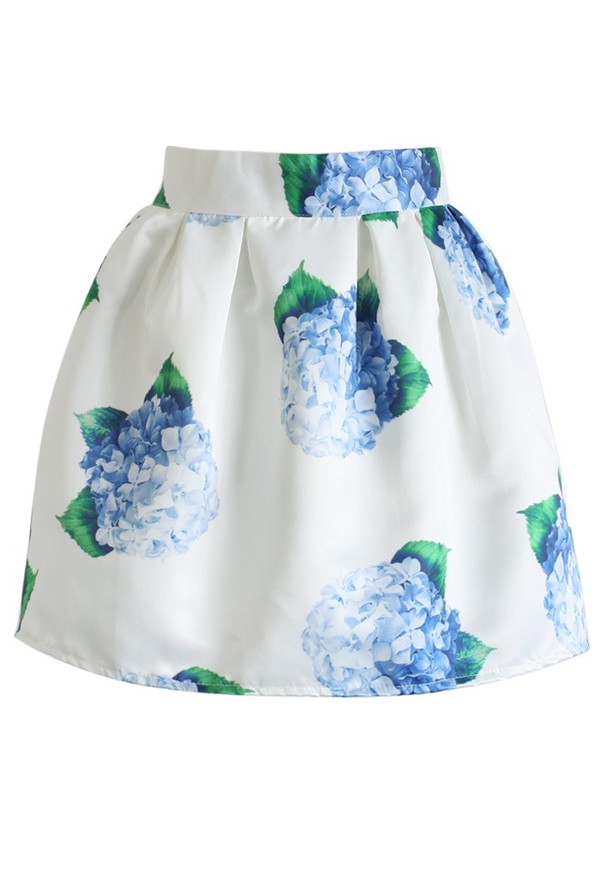 skirt chicwish bouquet mini skirt