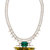 dannijo chartreuse resin and crystal elodie necklace