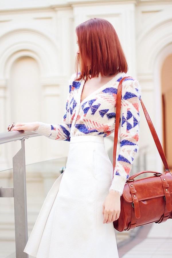 gvozdishe sweater skirt shoes jewels bag