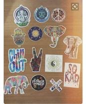 home accessory,stickers,decal,hippie,boho,bohemian,car,home decor