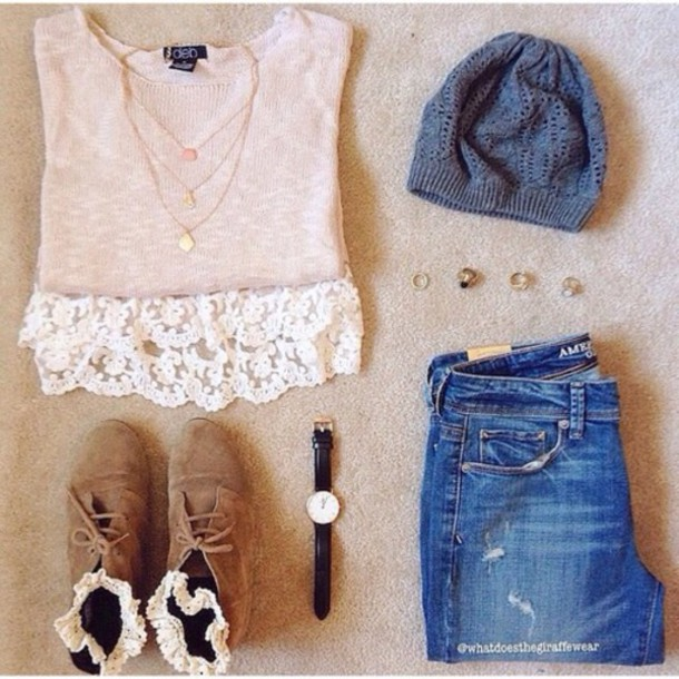 hat jeans home accessory shirt shoes