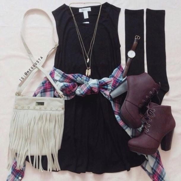 dress blouse shoes