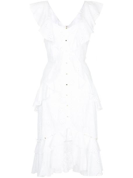 Alice McCall dress women white cotton