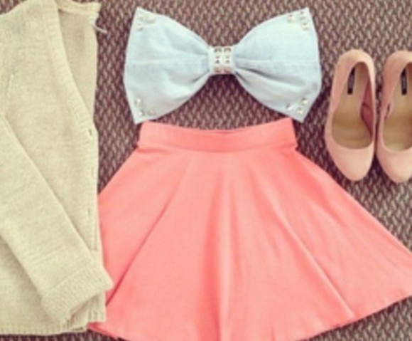 top bow top crop tops