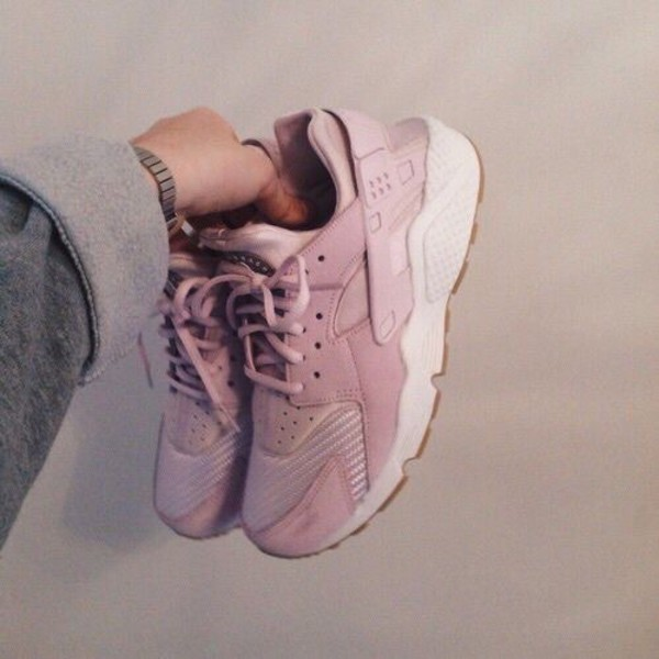 shoes huarache nike pink white nike air huaraches