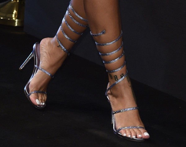 shoes silver strappy pumps