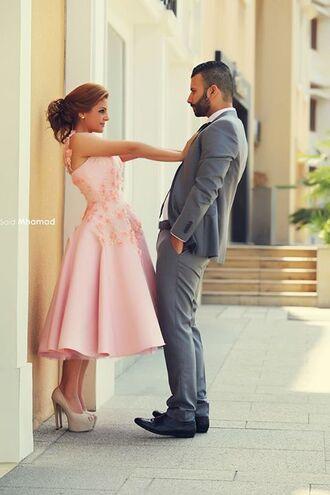 dress party dress prom dress pink dress jaedenbridal