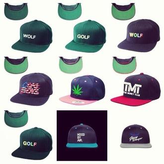 hat golf wang wolf snapback odd future teeeshop cokeboys dope weed