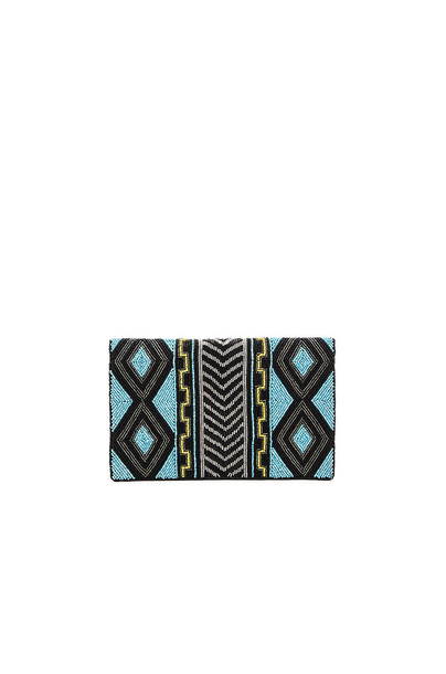 From St Xavier clutch turquoise