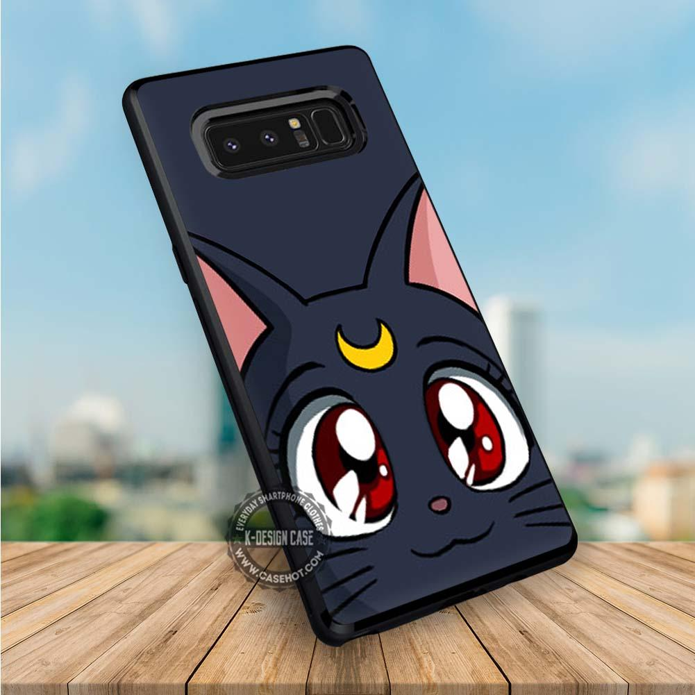 check out 15085 9e412 Luna Sailor Moon Anime iPhone X 8 7 Plus 6s Cases Samsung Galaxy S8 Plus  S7 edge NOTE 8 Covers #iphoneX #SamsungS8
