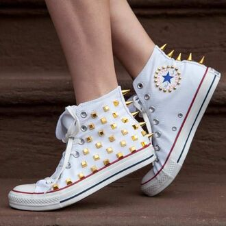 shoes converse shoes studs converse