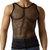 Soft Vintage Mens Fishnet See Through Tank Top A Shirt | eBay