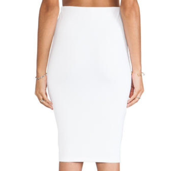 33% off David Lerner Dresses & Skirts - Opaque white DAVID LERNER skirt as Kim Kardashian from Hana's closet on Poshmark