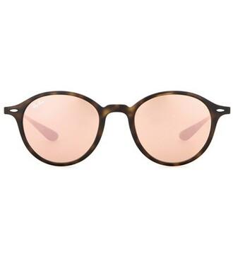 sunglasses round sunglasses pink