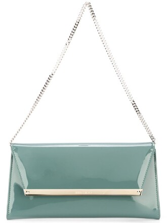 clutch green bag