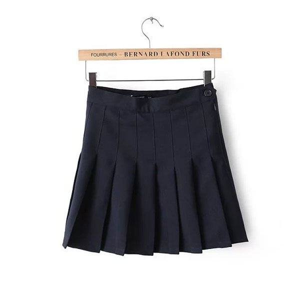 Black pleated tennis/school skirt from mxm on storenvy