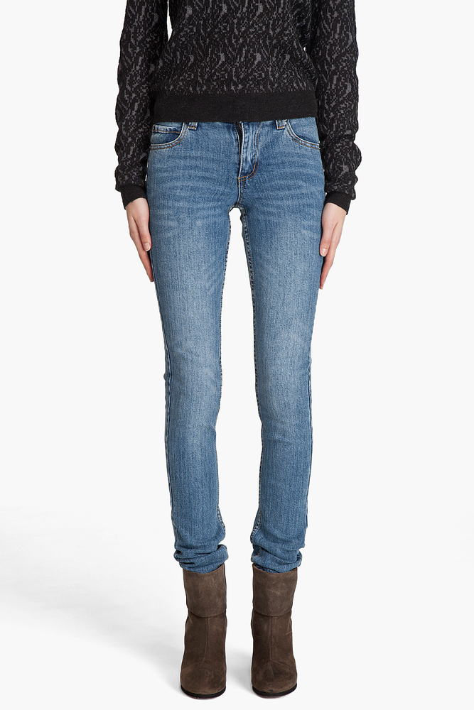 Cheap Monday 'Tight' Skinny Jeans in Dark Clean Wash / TheFashionMRKT