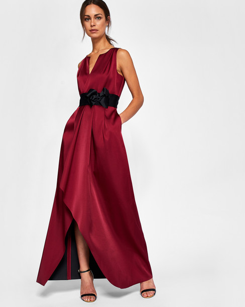 Ted Baker dress maxi dress bow maxi