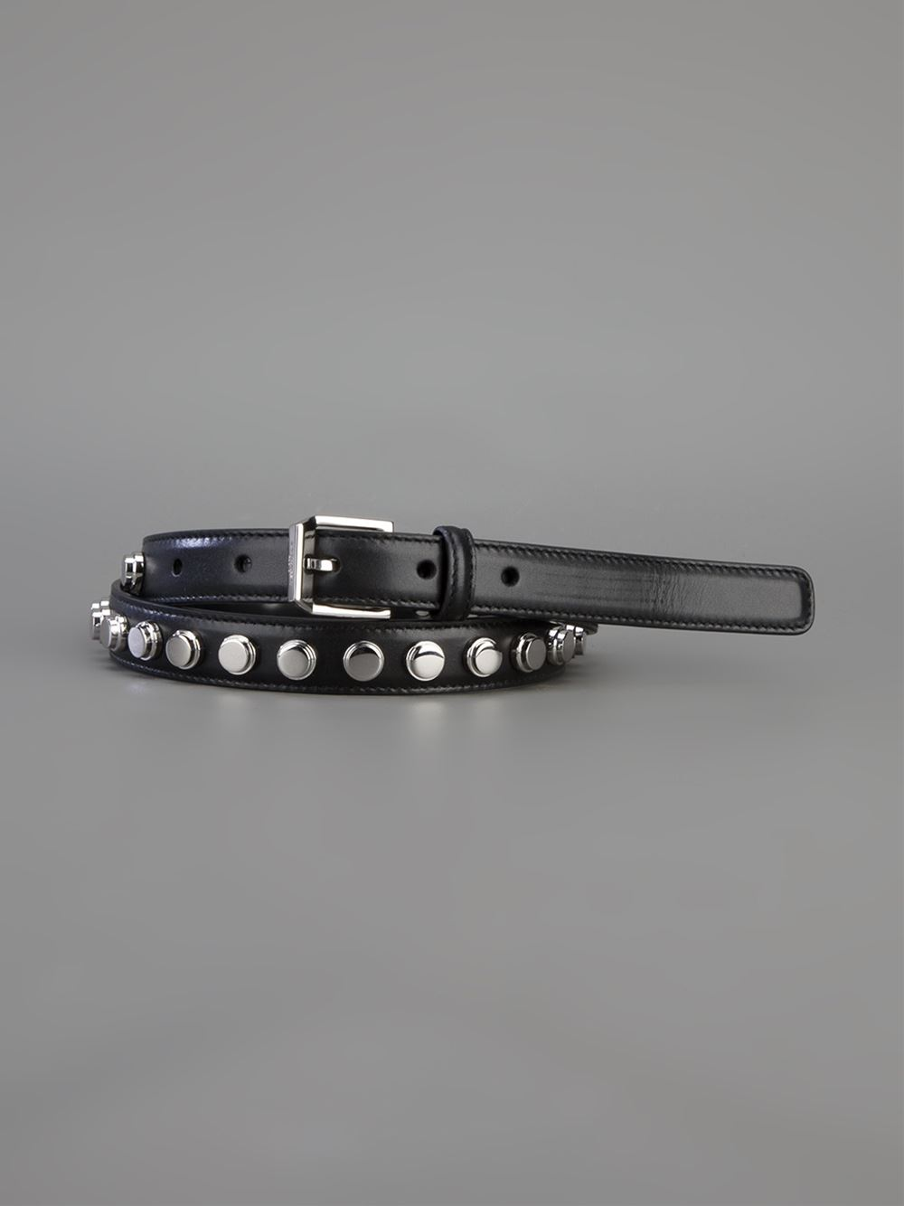 Saint laurent studded belt