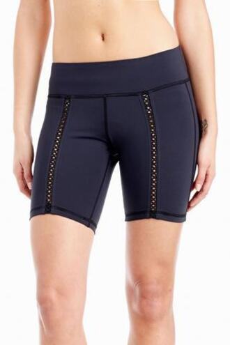 shorts michi activewear black bikiniluxe