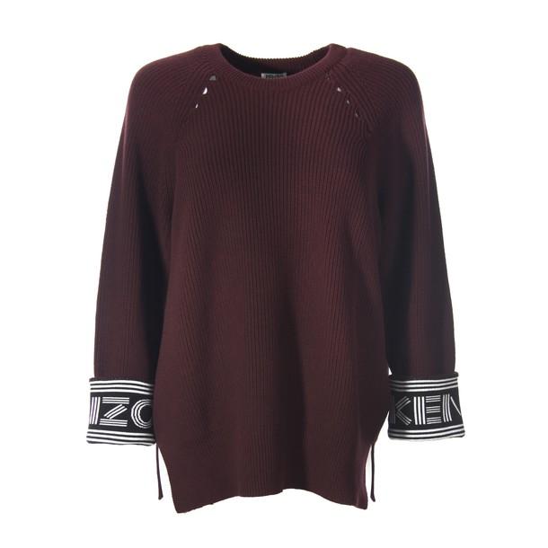 Kenzo jumper burgundy red sweater