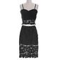 Lace midi skirt & top set