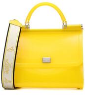 bag,shoulder bag,yellow