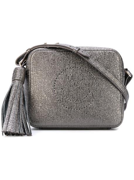 Anya Hindmarch women bag crossbody bag leather grey