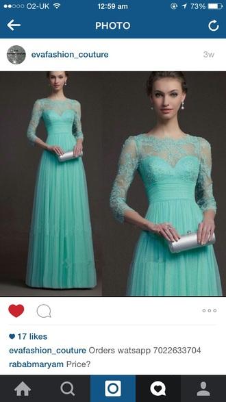 dress chiffon dress maxi dress teal net dress ball gown dresses flowy dress