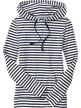 Women's Striped Hooded Pullovers | Old Navy