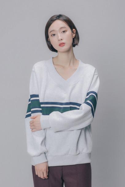 Top Mossbean Coat Long Coat Basic Cheesedal Tumblr Korean Fashion Somethinsweet