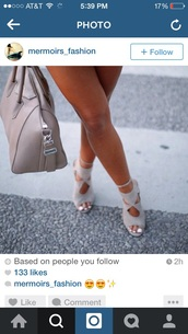 shoes,taupe,grey,sandals,cut out shoes