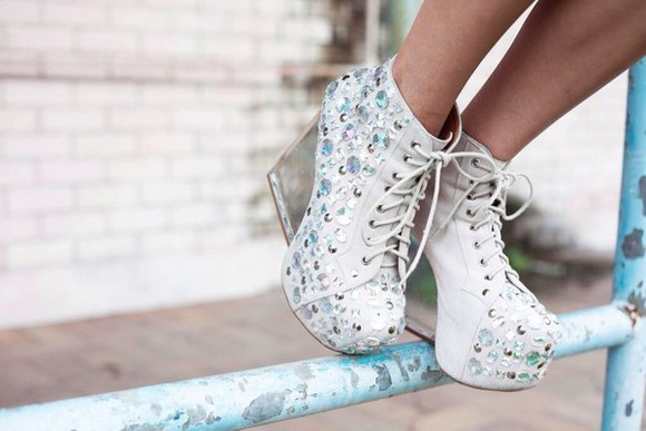 shoes jeffrey campbell high heels diamonds limited edition pumps dina wedges
