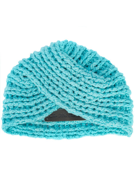 cross hat blue