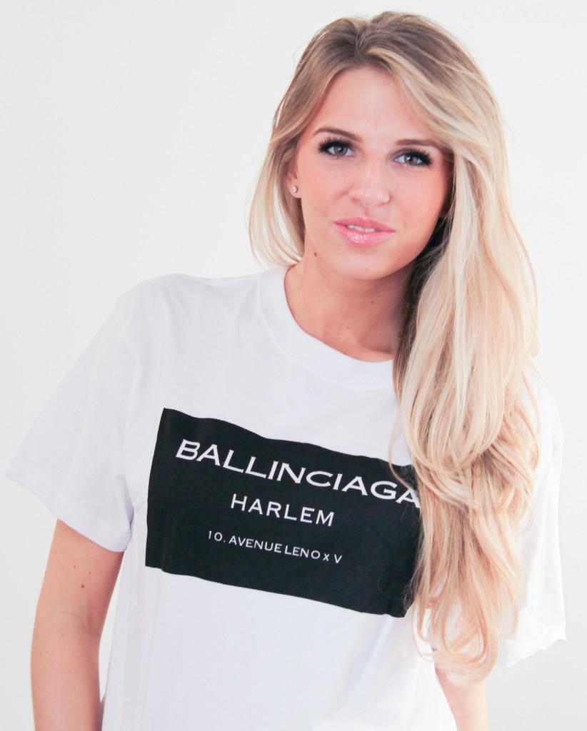 Ballinciaga Harlem Printed T-shirt (2 colors available) – Glamzelle