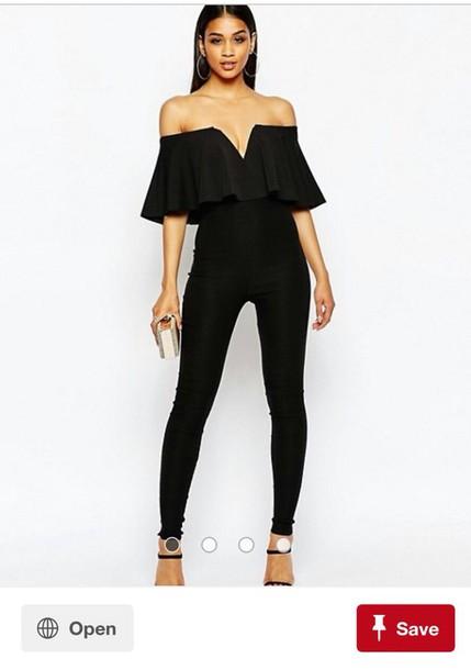 jumpsuit black or similar