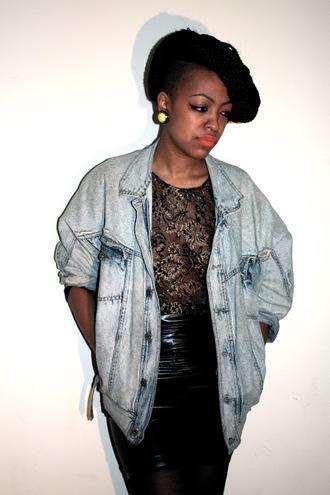 jacket blogger celebrity jeans vintage clothes levi's